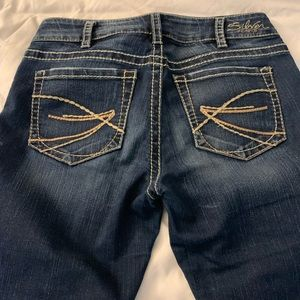Silver Jeans suki Capri  NWOT Size 30